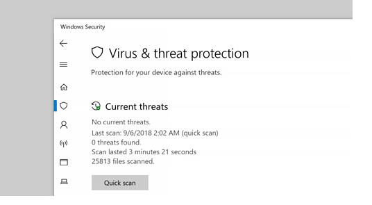 Install and Enable antivirus software programs